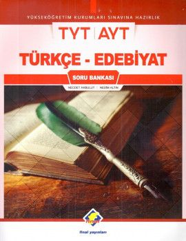 Final Yayınları YKS 1. ve 2. Oturum TYT AYT Türkçe Edebiyat Soru Bankası
