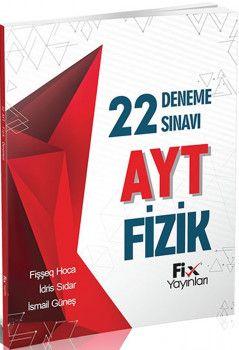 Fix Yayınları AYT Fizik 22li Deneme Sınavı