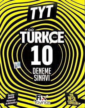 Fix Yayınları TYT Türkçe 10  Denemeleri
