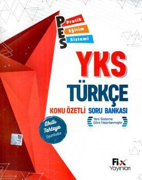 Fix Yayınları YKS 1. Oturum TYT Türkçe PES Konu Özetli Soru Bankası