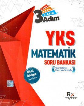 Fix Yayınları YKS 1. Oturum TYT Matematik 3 Adım Soru Bankası