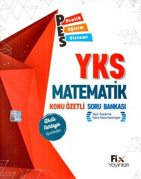 Fix Yayınları YKS 1. Oturum TYT Matematik PES Konu Özetli Soru Bankası