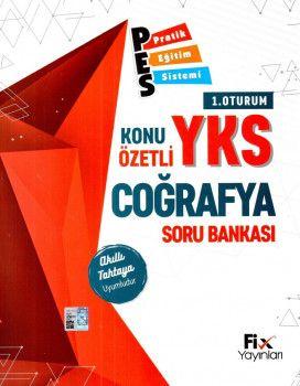Fix Yayınları YKS 1. Oturum TYT Coğrafya PES Konu Özetli Soru Bankası