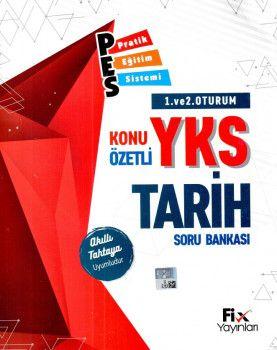 Fix Yayınları YKS 1. ve 2. Oturum TYT Tarih PES Konu Özetli Soru Bankası