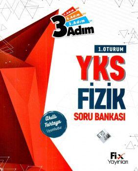 Fix Yayınları YKS 1. Oturum TYT Fizik 3 Adım Soru Bankası