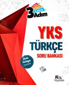 Fix Yayınları YKS 1. Oturum TYT Türkçe 3 Adım Soru Bankası