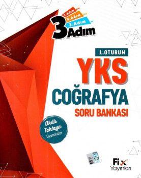 Fix Yayınları YKS 1. Oturum TYT Coğrafya 3 Adım Soru Bankası