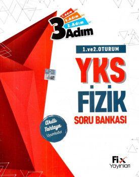 Fix Yayınları YKS 1. ve 2. Oturum TYT 3 Adım Fizik Soru Bankası