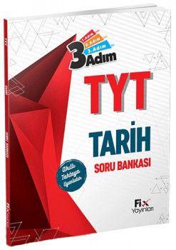 Fix Yayınları YKS 1. Oturum TYT Tarih 3 Adım Soru Bankası
