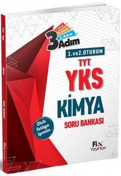 Fix Yayınları YKS 1. ve 2. Oturum Kimya 3 Adım Soru Bankası