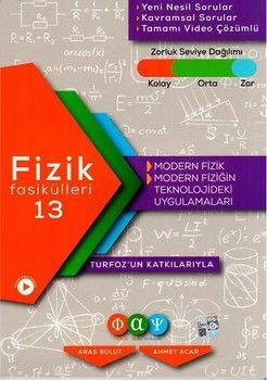 Fiziksel Alan Yayınları Fizik Fasikülleri 13 Modern Fizik