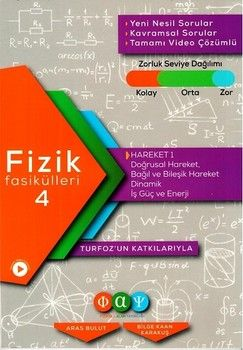 Fiziksel Alan Yayınları Fizik Fasikülleri 4 Hareket 1