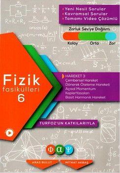 Fiziksel Alan Yayınları Fizik Fasikülleri 6 Hareket 3