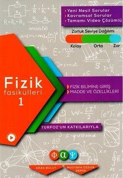 Fiziksel Alan Yayınları Fizik Fasikülleri 1 Fizik Bilimine Giriş Madde ve Özellikleri