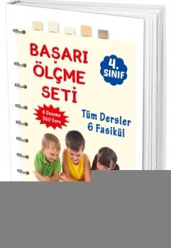FMS Yayınları 4. Sınıf Tüm Dersler Başarı Ölçme Seti 6 Fasikül