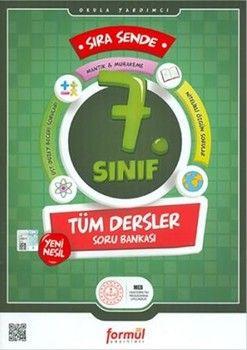 Formül Yayınları 7. Sınıf Sıra Sende Tüm Dersler Soru Bankası