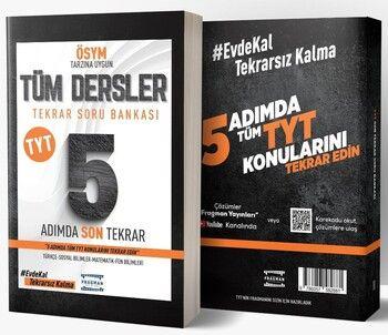 Fragman Yayınları TYT Tüm Dersler 5 Adımda Son Tekrar Soru Bankası