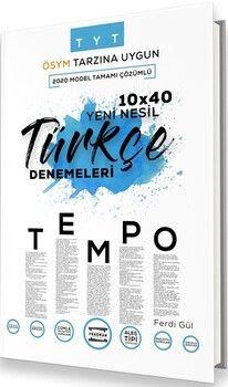 Fragman Yayınları TYT Türkçe TEMPO Yeni Nesil 10x40 Denemeleri