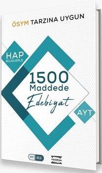 Fragman Yayınları AYT HAP Bilgilerle 1500 MaddedeEdebiyat
