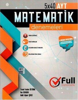Full Matematik Yayınları AYT Matematik 15 x 40 Özel Denemeleri