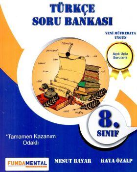 Funda Mental Yayınları 8. Sınıf Türkçe Açık Uçlu Sorularla