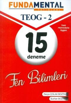 Fundamental Yayınları 8. Sınıf TEOG 2 Fen Bilimleri 15 Deneme