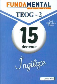 Fundamental Yayınları 8. Sınıf TEOG 2 İngilizce 15 Deneme