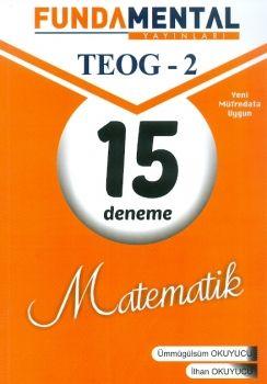 Fundamental Yayınları 8. Sınıf TEOG 2 Matematik 15 Deneme