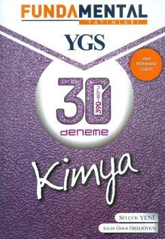 Fundamental Yayınları YGS Kimya 30 Deneme 390 Soru