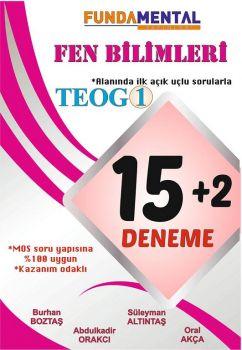 FundaMental Yayınları 8. Sınıf TEOG Fen Bilimleri 15 + 2 Açık Uçlu Deneme