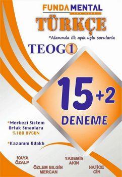 FundaMental Yayınları 8. Sınıf TEOG Türkçe 15 + 2 Açık Uçlu Deneme