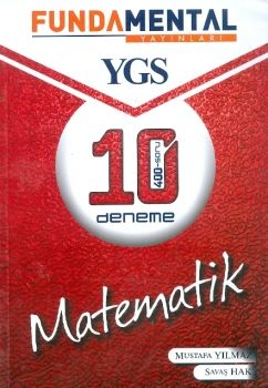 Fundamental YGS Matematik 10 Deneme 400 Soru