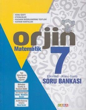 Gama Okul Yayınları 8. Sınıf Matematik Orjin Etkinlikli Konu Özetli Soru Bankası