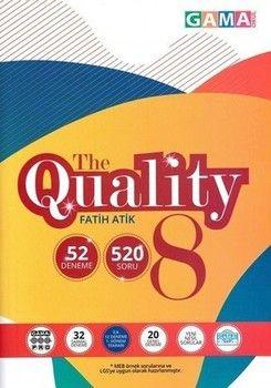 Gama Okul Yayınları 8. Sınıf LGS The Quality 52 Deneme Sınavı
