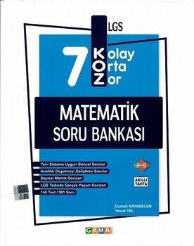 Gama Okul Yayınları 7. Sınıf Matematik KOZ Tatlı Sert Soru Bankası