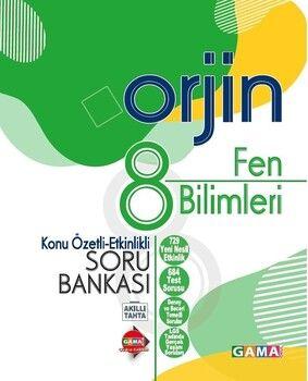 Gama Okul Yayınları 8. Sınıf Fen Bilimleri Orjin Konu Özetli Etkinlikli Soru Bankası