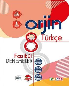 Gama Okul Yayınları 8. Sınıf Türkçe Orjin Fasikül Denemeler