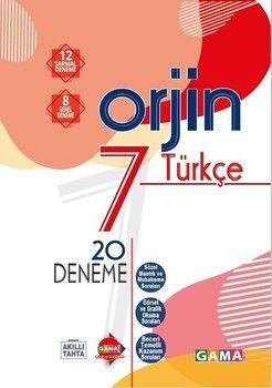 Gama Okul Yayınları 7. Sınıf Türkçe Orjin 20 Deneme