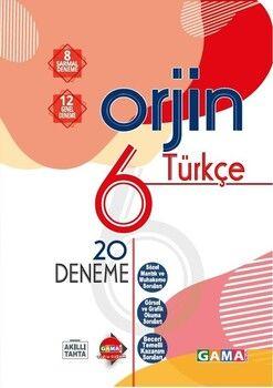 Gama Okul Yayınları 6. Sınıf Türkçe Orjin 20 Deneme