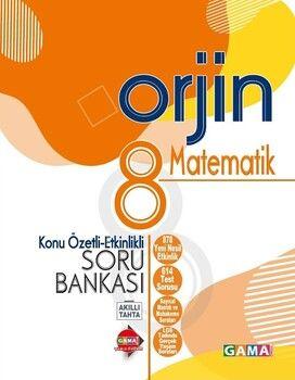 Gama Okul Yayınları 8. Sınıf Matematik Orjin Konu Özetli Etkinlikli Soru Bankası