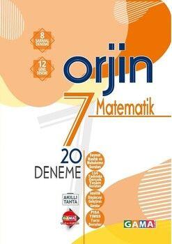 Gama Okul Yayınları 7. Sınıf Matematik Orjin 20 Deneme