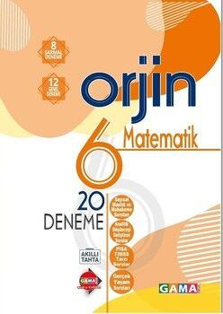 Gama Okul Yayınları 6. Sınıf Matematik Orjin 20 Deneme