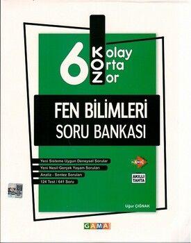 Gama Okul Yayınları 6. Sınıf Fen Bilimleri KOZ Soru Bankası