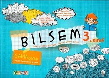 Gama Okul Yayınları 2021 3.Sınıf Bilsem Sınavlarına Hazırlık