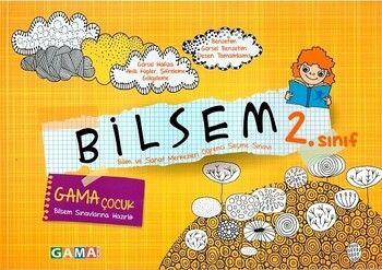 Gama Okul Yayınları 2021 2.Sınıf Bilsem Sınavlarına Hazırlık