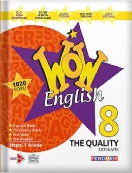 Gama Okul Yayınları 8. Sınıf English Fenomen Wow The Qualıty