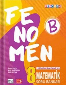 Gama Okul Yayınları 8. Sınıf LGS Fenomen Matematik B Soru Bankası