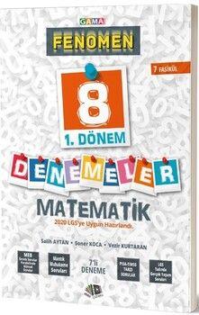 Gama Okul Yayınları8. Sınıf 1. Dönem Matematik Fenomen Deneme