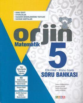 Gama Yayınları 5. Sınıf Orjin Matematik Soru Bankası