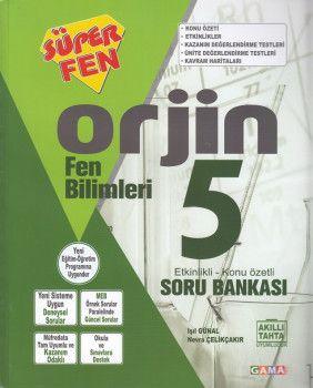 Gama Yayınları 5. Sınıf Orjin Fen Bilimleri Soru Bankası